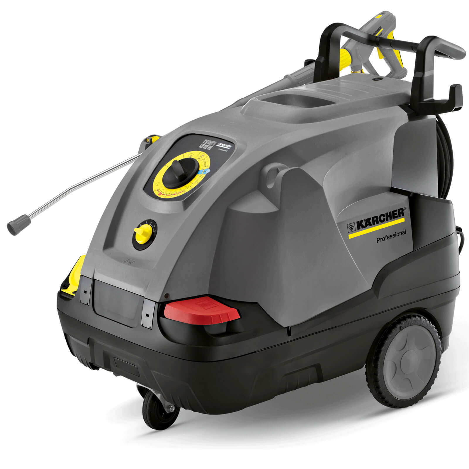 Karcher HDS 6/12 C Professional Hot Water Steam Pressure Washer 120 Bar FREE Foam Nozzle & Wet & Dry Worth £238.90